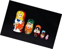 """Alice and Wonderland"" Nesting Doll"