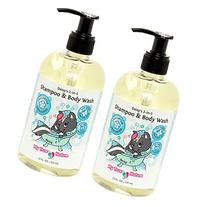 All Natural Baby Shampoo Body Wash - Daisy's 2-in-1 Shampoo/