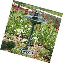 Alpine TEC106 Tiered Classic Pedestal Garden Water Fountain