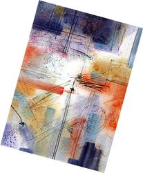 Analog, Giclee Print of Watercolor Abstract, a Picture