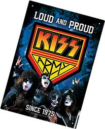 Aquarius Kiss Army Tin Sign