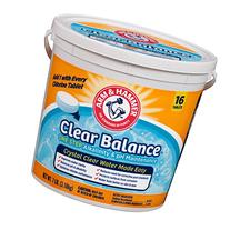 Arm & Hammer Clear Balance Pool Maintenance Tablets, 16