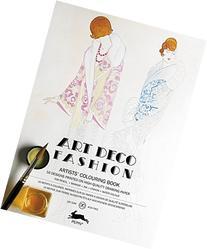 Art Deco Fashion: Artists' Colouring Book