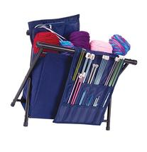 ArtBin Needle Arts Caddy- Navy Yarn Storage,6933AM