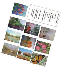 NEW! Artistic Landscapes Coloring Book - Vol. 1 - 10 Real