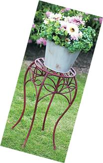 Attraction Design HG1277 Metal Antique Finished Planter