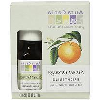 Aura Cacia Essential Oil, Brightening Sweet Orange, 0.5