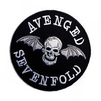 Avenged Sevenfold Metal Rock Punk Music Band Logo Patch Sew