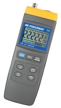 B&K Precision 760 Intelligent PH Meter, pH 0 to 14 pH