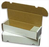 BCW 660 Count- Corrugated Cardboard Storage Box - Baseball,