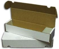 BCW 800 Count- Corrugated Cardboard Storage Box - Baseball,