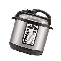 BELLA 6 Quart Pressure Cooker with 10 pre-set functions and