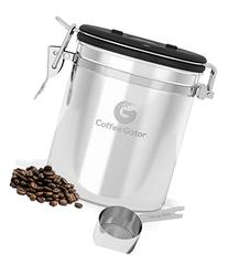 Coffee Canister by Coffee Gator With Built-in Valve - Free