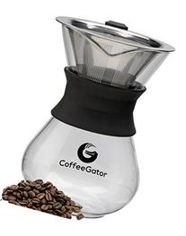 Coffee Gator Pour Over Brewer – Unlock Flavor with
