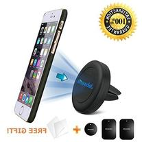 Cell Phone Holder for Car, Magnetic Phone Car Mount Air Vent