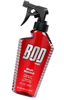 BOD Man Fragrance Body Spray, Most Wanted, 8 Fluid Ounce