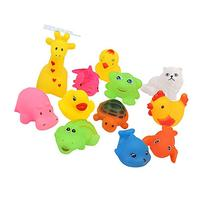 Baby Bath Squirt and Float Toys, Set of 12