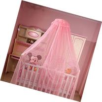 Baby Bed Canopy Crib Netting Hanging Mosquito Net with Stand