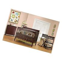 Baby Mod - Bella 4-in-1 Fixed Side Crib, Changing Table and