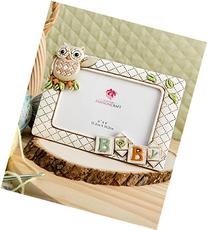 Baby Owl Picture Frame Horizontal 3d  From Gifts By