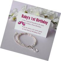 Baby's 1st Birthday Gift Bracelet Baby to Bride® Growing