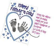 BabyRice Make your Own Father's Day Card using YOUR Baby's