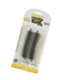 "Bachmann Industries Half Section 15.50"" Radius Curved Track"