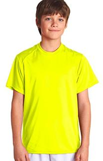Badger - Youth B-Dry Core T-Shirt with Sport Shoulders -