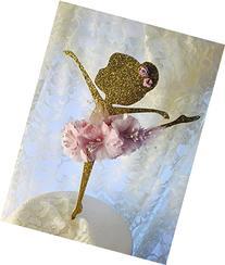 """Ballerina Cake Topper - 6"""" Cake Topper - Ballerina Birthday"""