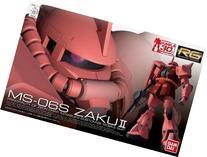 Bandai #02 MS-06S Char's Zaku 1/144 Real Grade