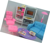 Barbie Size Dollhouse Furniture - Family Room TV Couch