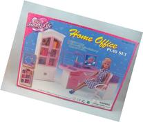 Barbie Size Dollhouse Furniture- Home Office Computer Lamp