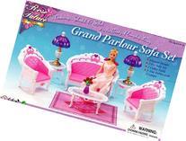 Barbie Size Dollhouse Furniture- Living Room Grand Parlour