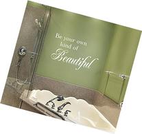 Bathroom Decal - Be Your Own Kind of Beautiful Wall Decal -