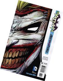 Batman #13 Die-Cut Mask Cover Return of the Joker Death Of