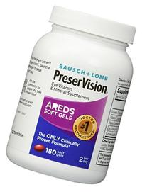 Bausch and Lomb PreserVision AREDS Formula Eye Vitamin and