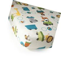 Bedtime Originals Crib Fitted Sheet, Choo Choo by Bedtime