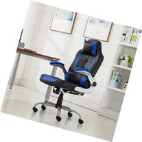 Belleze© High-back Ergonomic PU Leather Racing Chair