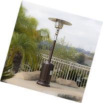 Belleze 48,000BTU Premium Outdoor Patio Heater with Wheel LP