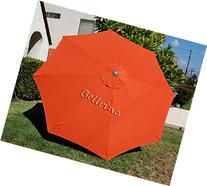 BELLRINO DECOR Replacement Orange STRONG & THICK Umbrella