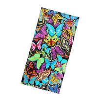 Ben Kaufman Sales 105049 Butterflies Beach Towel, Fiber