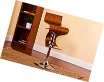 Bentwood Walnut Stain Finish Contemporary Style Adjustable