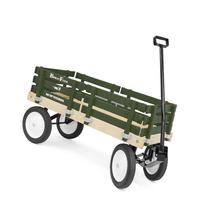 Berlin F310G Amish-Made Flyer Wagon, Green