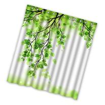 Best Choice - Beautiful Spring Green Leafs Tree Shower