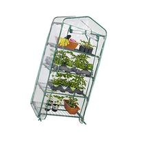 "Best Choice Products 4 Tier Mini Green House, 27"" x 18"" x 63"