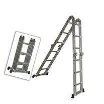 Best Choice Products Multi Purpose Aluminum Ladder Folding