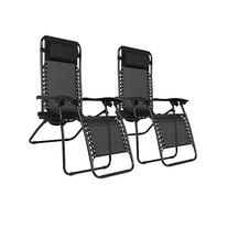 Best Choice Products Zero Gravity Chairs Case Of  Black