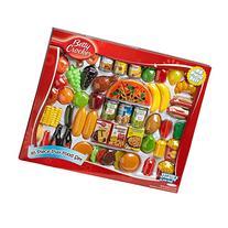General Mills Betty Crocker 85 Piece Play Food Set, Red