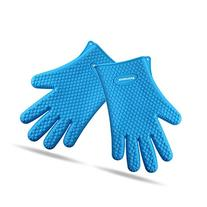 Binwo Silicone Grilling Gloves - Best Heat Resistant Cooking