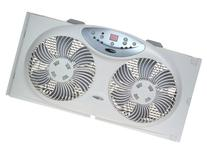 Bionaire Twin Reversible Airflow Window Fan with Remote